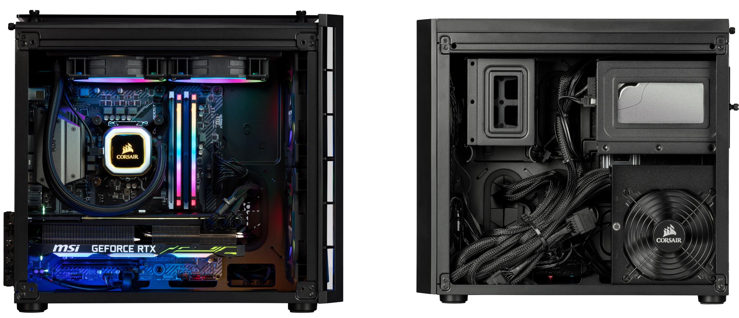 Corsair's Vengeance 5185 PC: Core i7-9700K + GeForce RTX