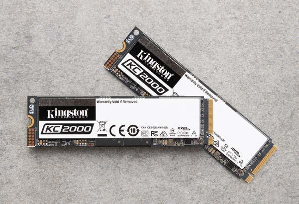 Kingston Launches Client-Focused KC2000 M 2 NVMe SSD: 96L TLC On