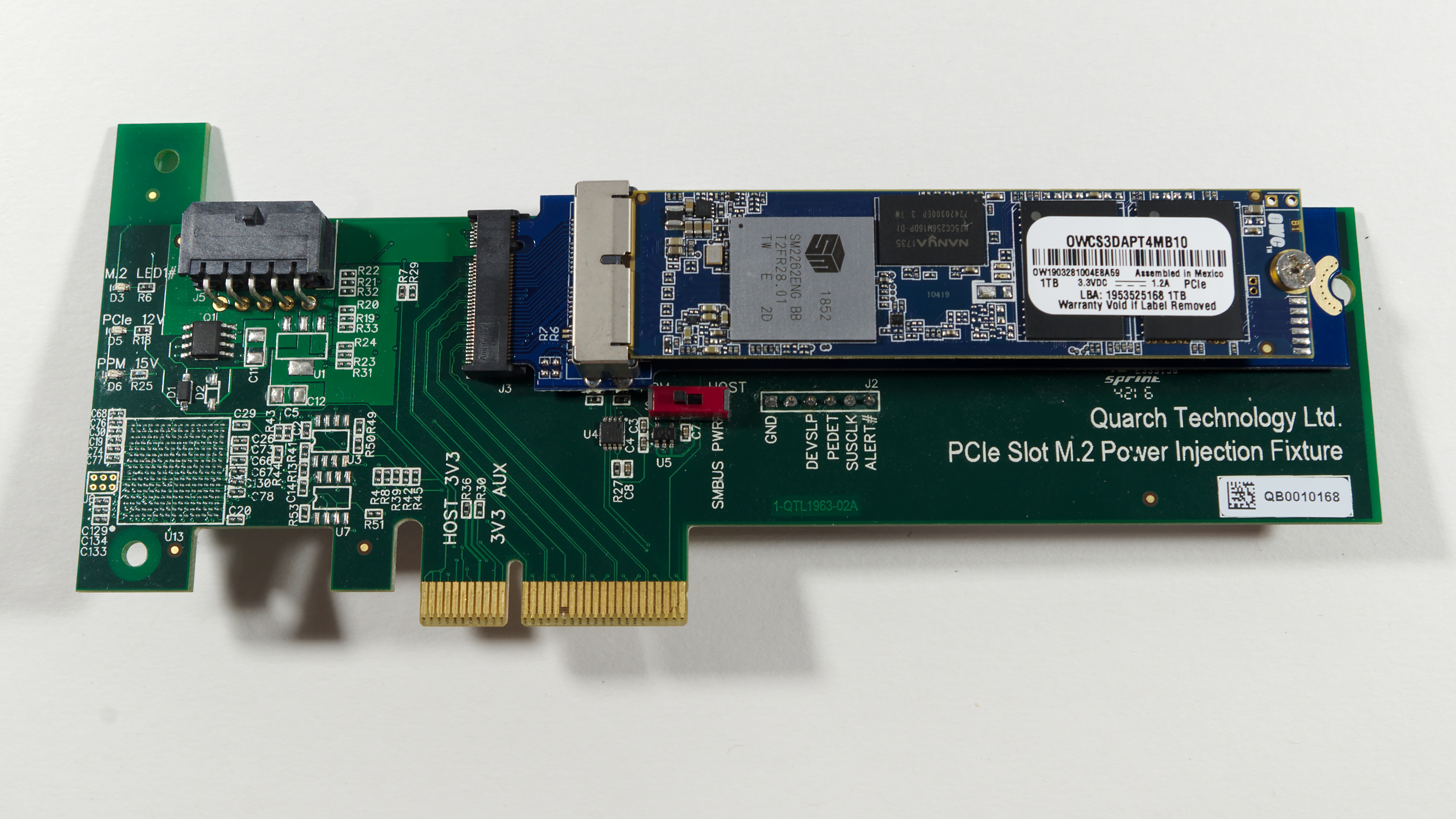 SLC Cache Sizes - The OWC Aura Pro X2 SSD Review: An NVMe