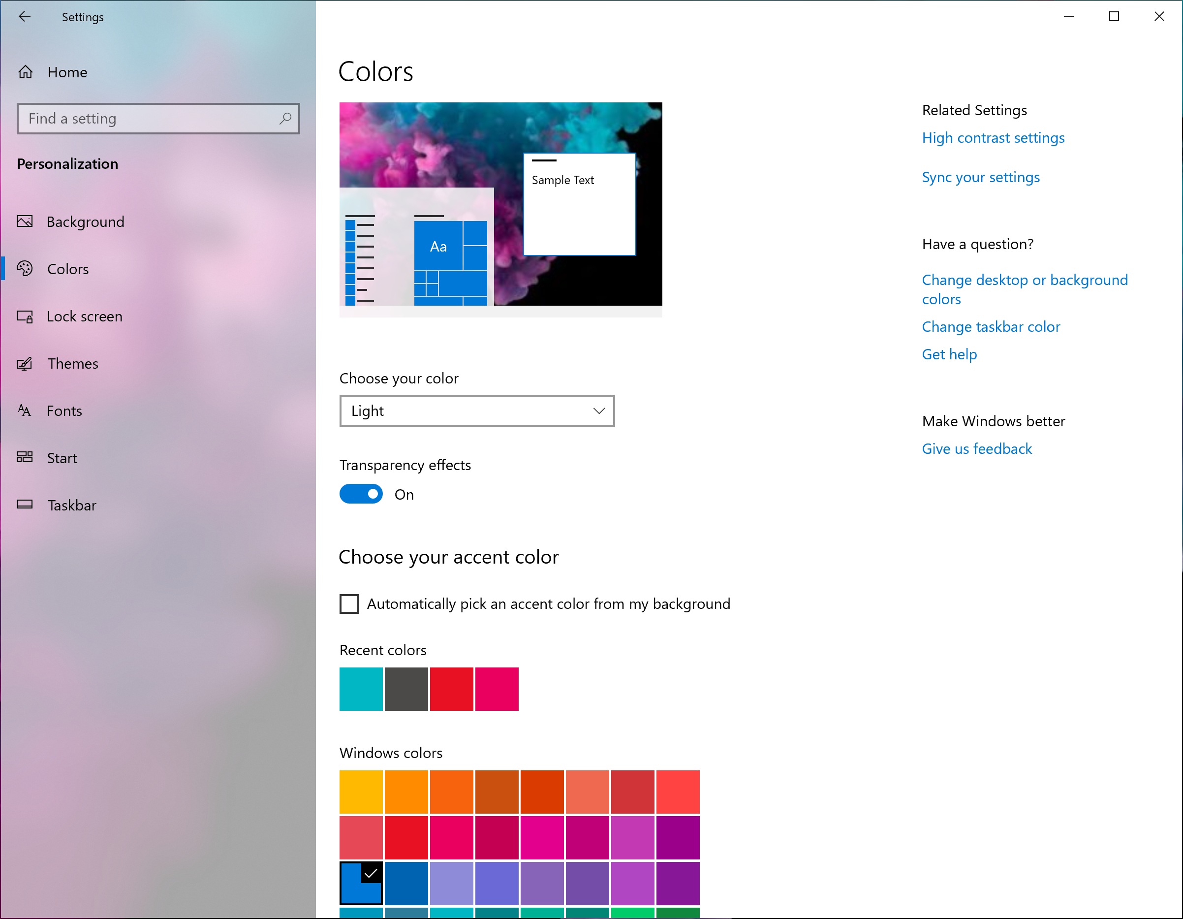 Light Theme and Start Menu Changes - Windows 10 May 2019