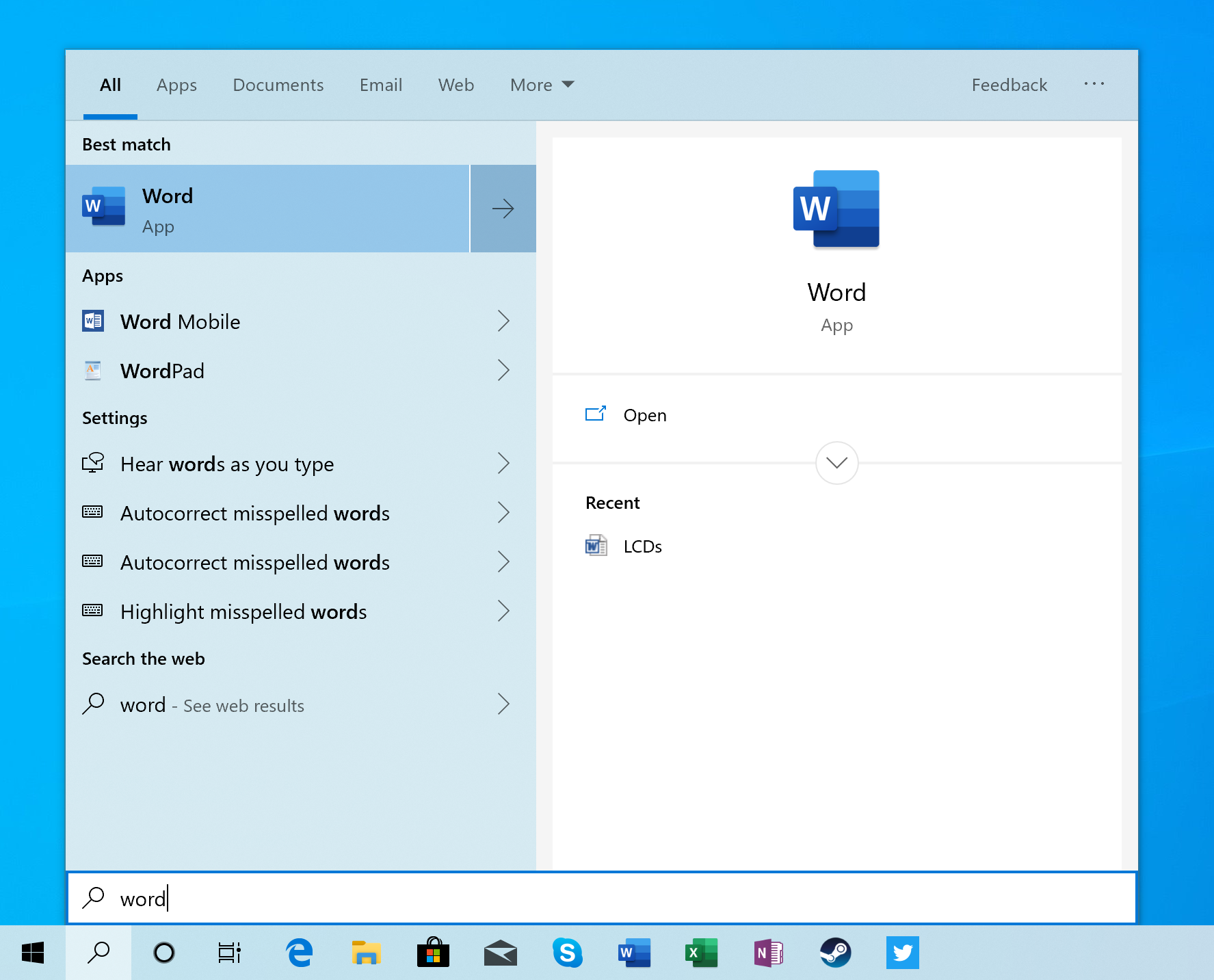 Search And Sign In Windows 10 May 2019 Update Feature Focus Light Themes And Sandboxes