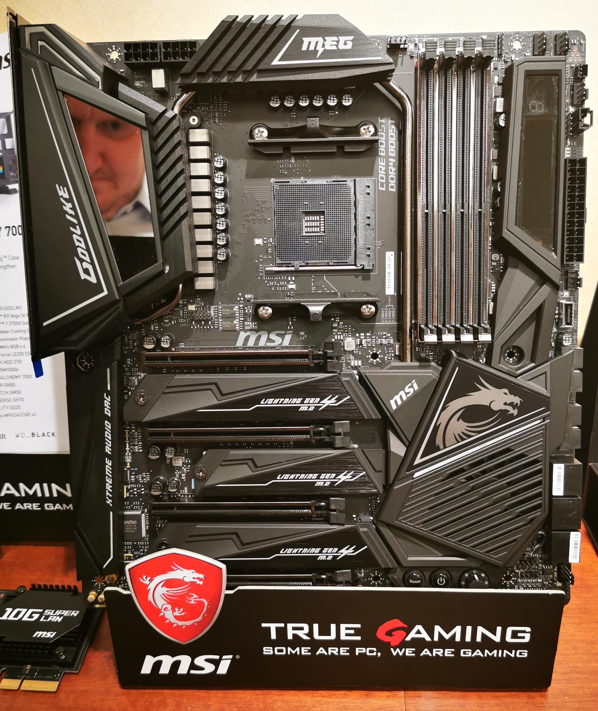 MSI Announces The MEG X570 Godlike: Five M 2, PCIe 4 0 and 10G LAN