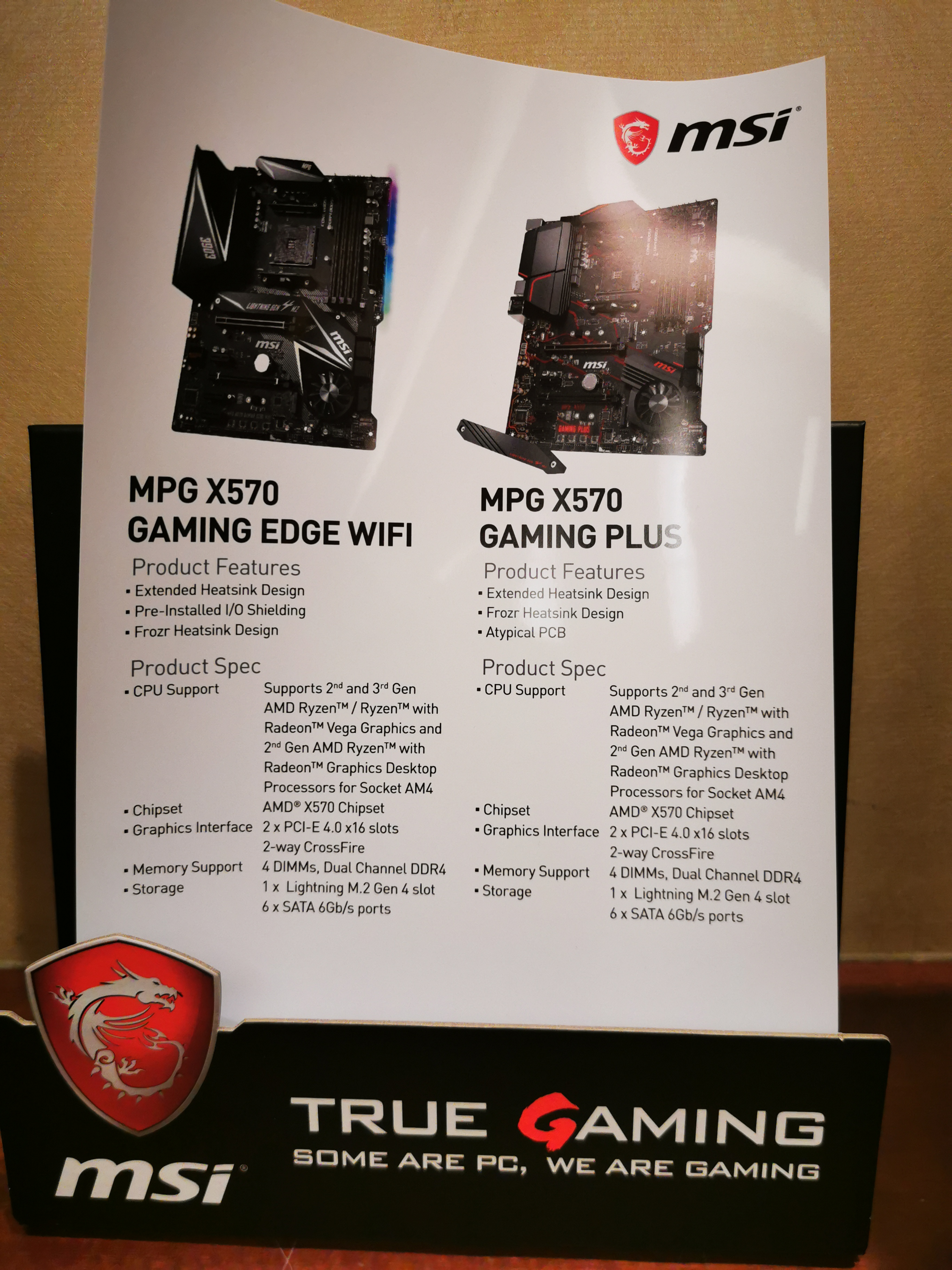 MSI Announces Its MPG X570 Gaming Edge WIFI Motherboard