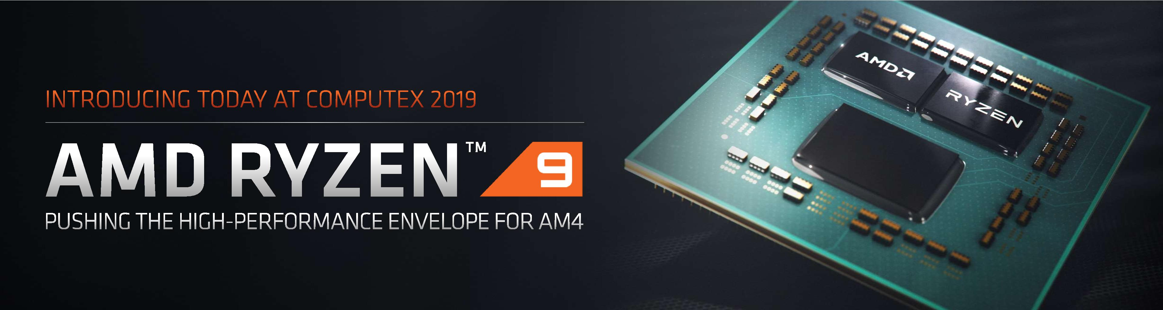 AMD Ryzen 3000 Announced: Five CPUs, 12 Cores for $499, Up to 4 6