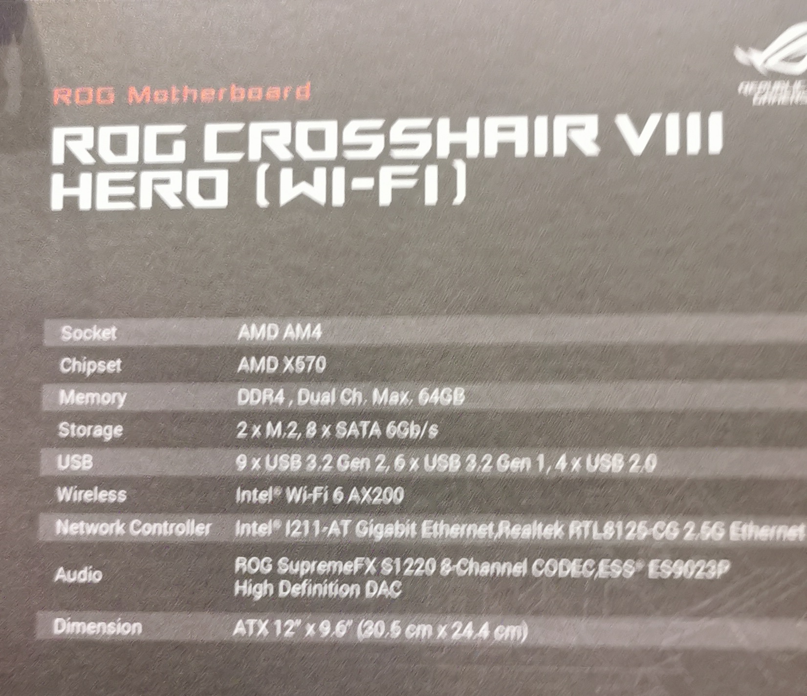 The ASUS ROG Crosshair VIII Hero: With or Without Wi-Fi 6