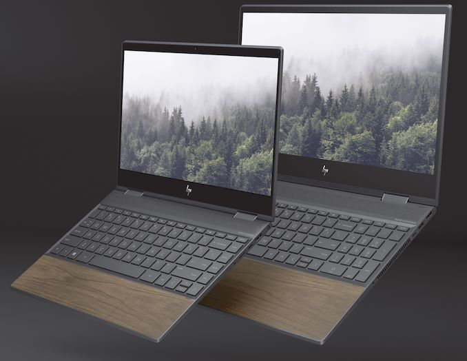 A New Collection of HP Envy Convertible Laptops with Wooden Palmrests
