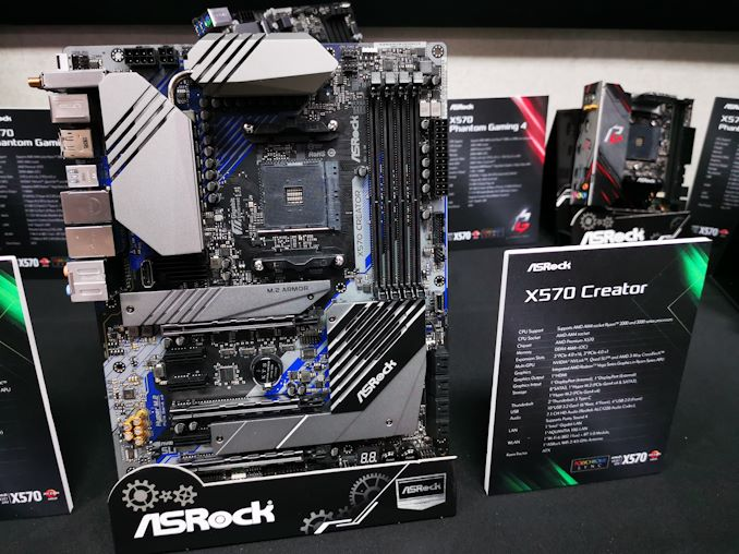 Made For Creators Asrock X570 Creator With Ddr4 4600 Two Tb3 10gbe