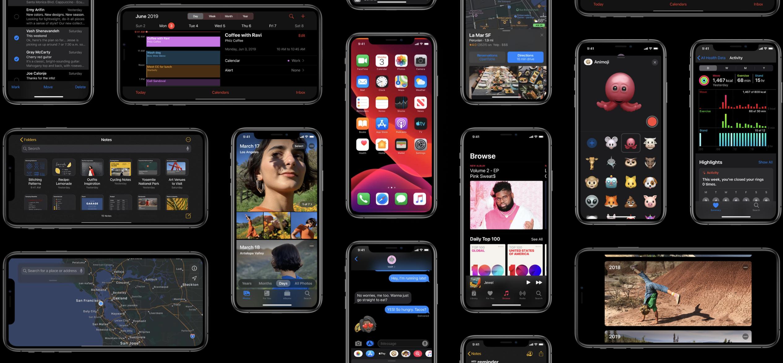 Apple Announces iOS 13: Dark Mode, iPadOS & Files