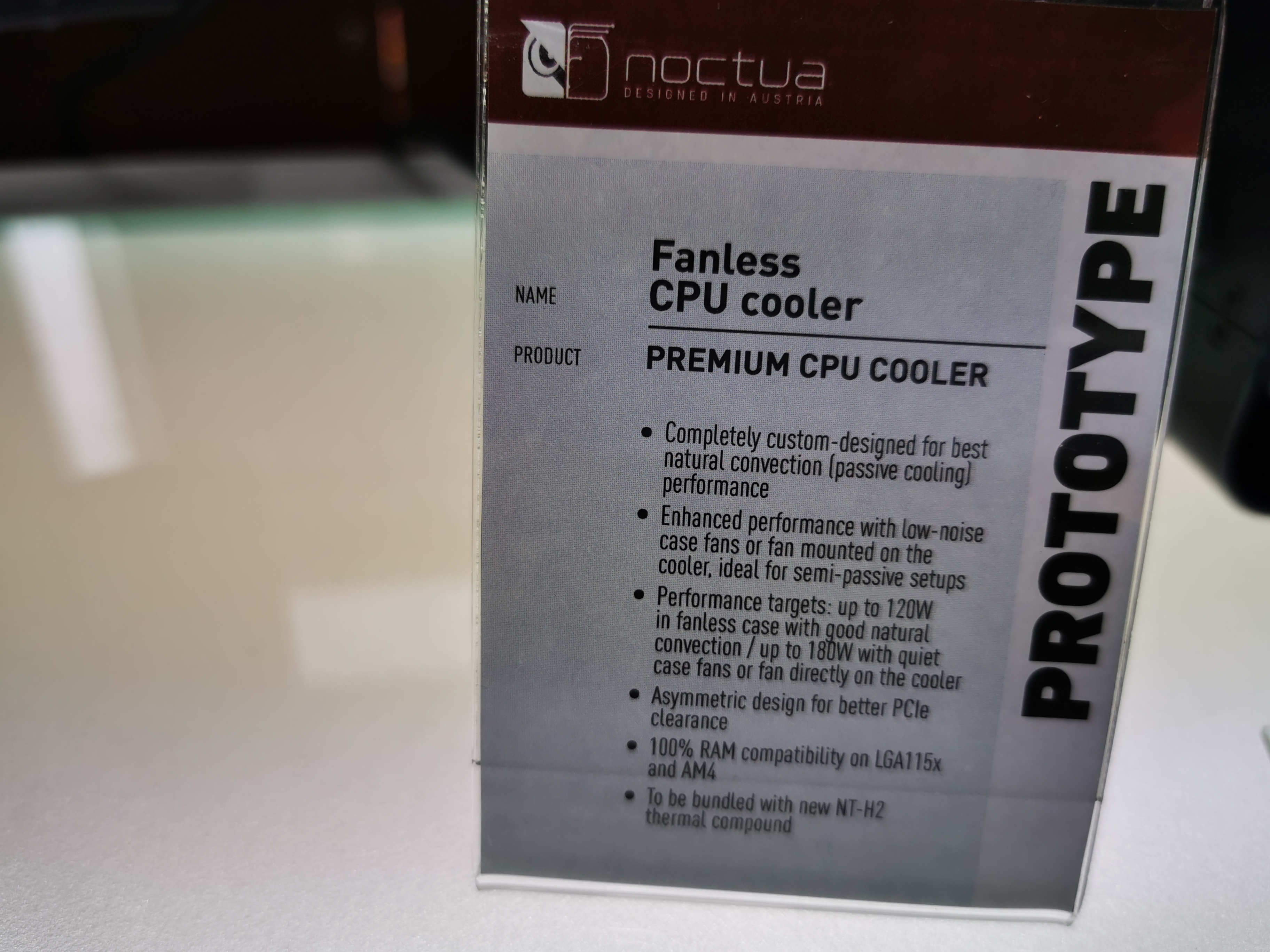 Best Quiet Cpu Cooler 2020 Noctua Concept Fanless CPU Cooler: Up to 120W Of Cooling Performance