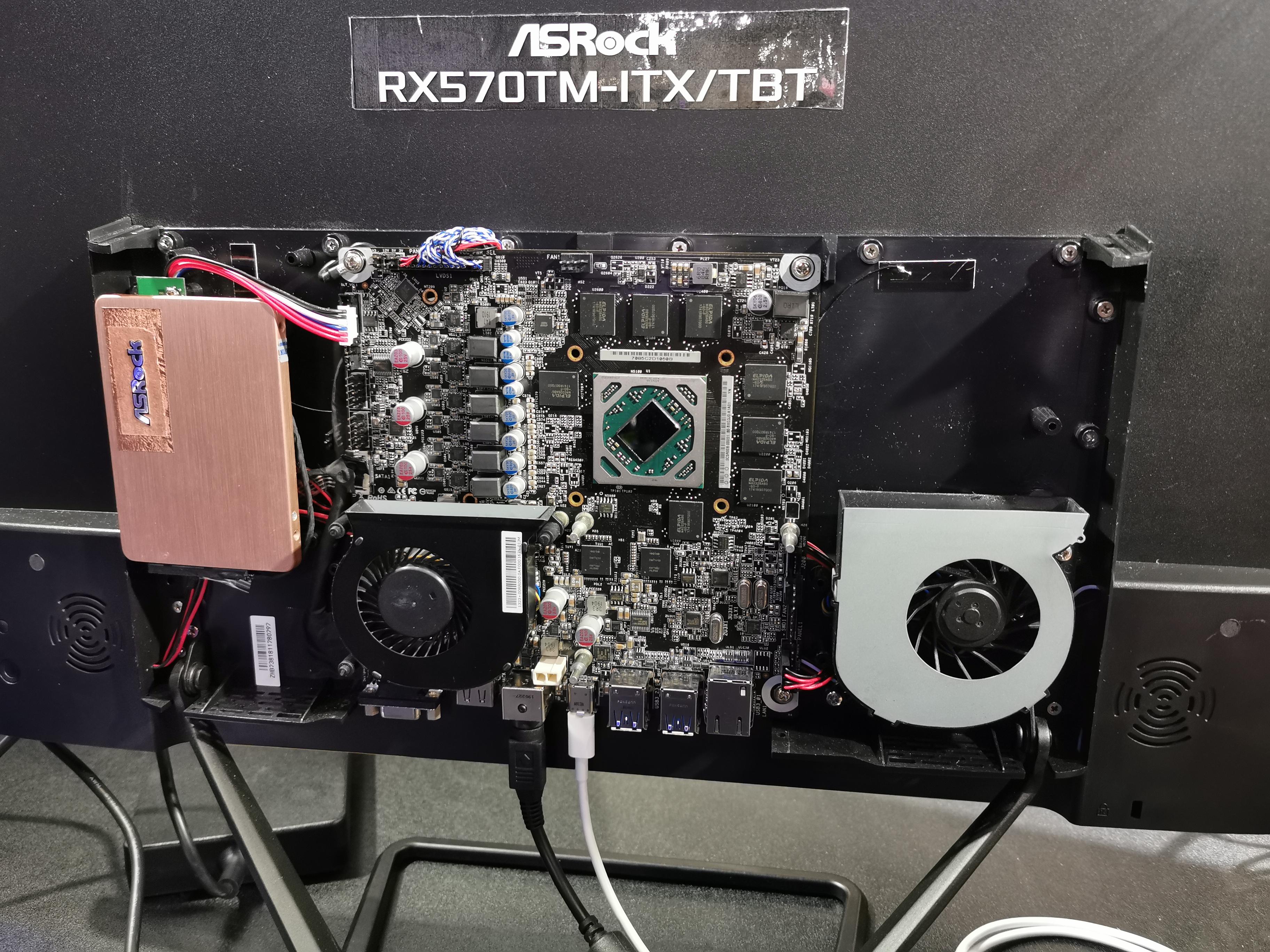 ASRock's Internal External GPU: No Box Needed