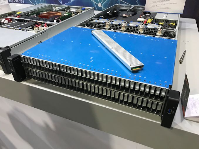 Spotted at Computex: An AMD EPYC-Based System with 108 Intel