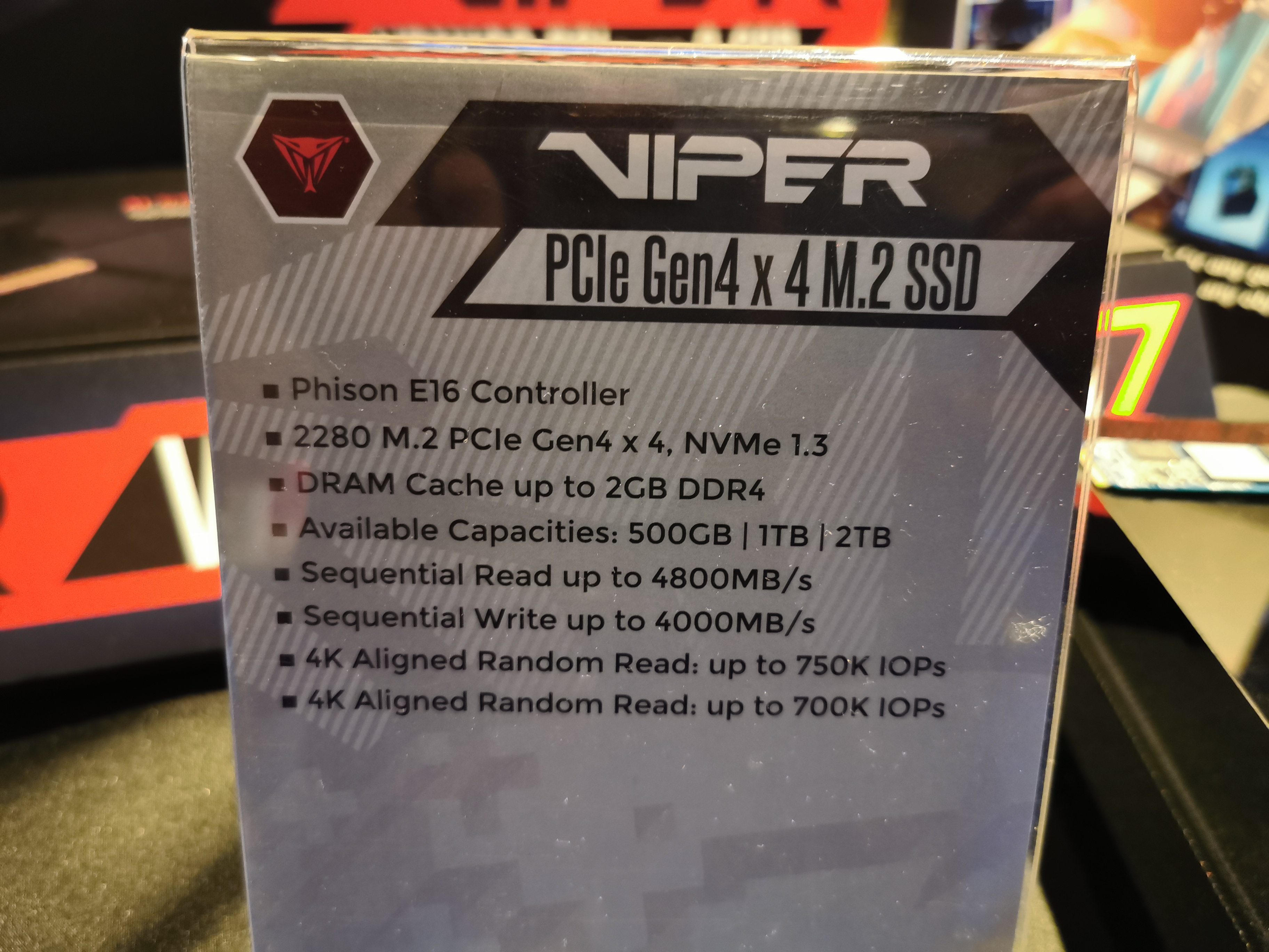 More 2TB PCIe 4 0 SSD Options: Patriot with Custom Firmware