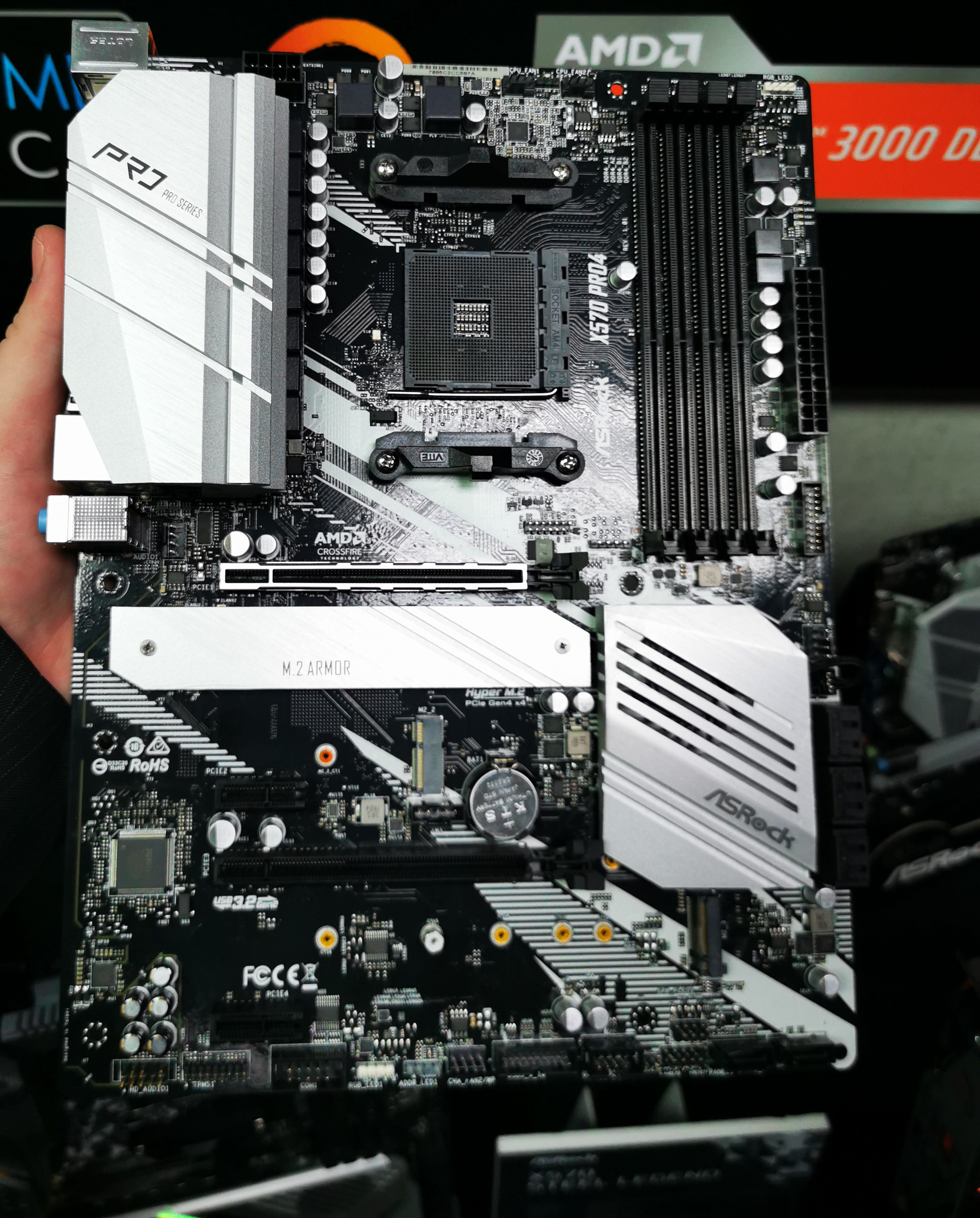 ASRock X570 Pro4 and X570M Pro4 Motherboards: More For Professionals