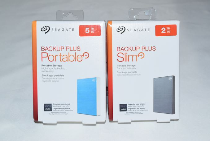 Seagate Backup Plus Portable 5TB & Backup Plus Slim 2TB Review: SMR for the Consumer Market