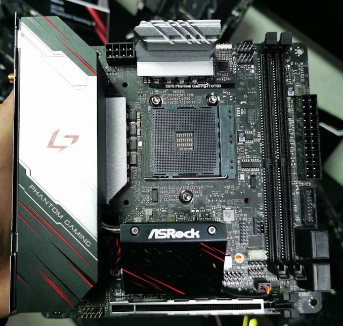 Asrock X570 Phantom Gaming Itx Tb3 The Small Motherboard With A Side Of Everything