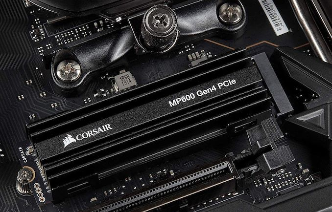 Corsair's PCIe 4 0 NVMe SSD Found For Pre-Order: MP600 up to 2TB