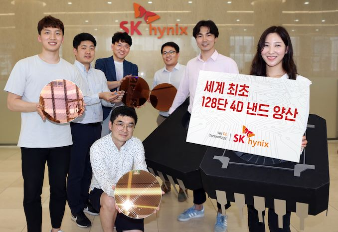 SK Hynix Starts Production of 128-Layer 4D NAND, 176-Layer Being Developed