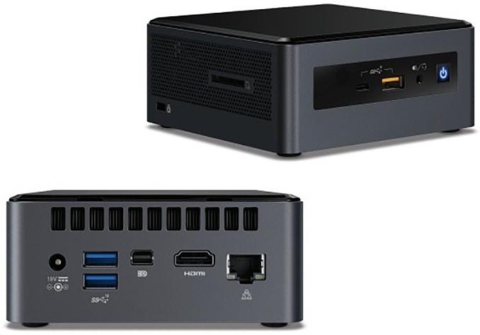 Intel's Islay Canyon Mini NUCs Available: Whiskey Lake, Radeon 540X