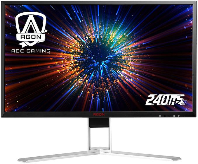 AOC's Agon Monitors with 0 5ms Response Time & 240 Hz Refresh Now