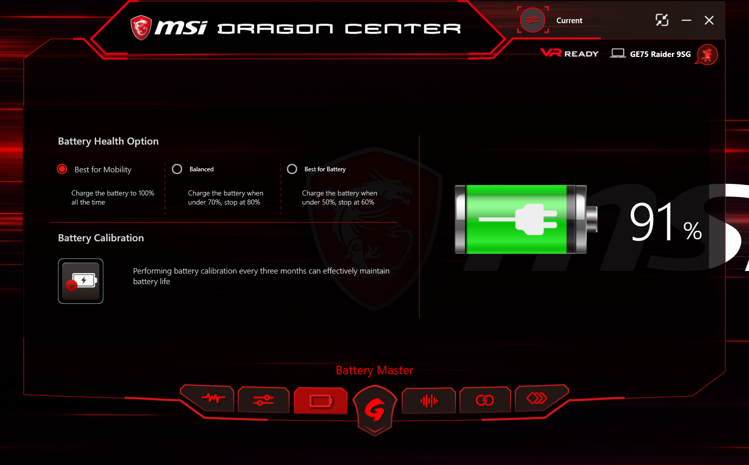 Battery Life and Charge Time - The MSI GE75 Raider Laptop