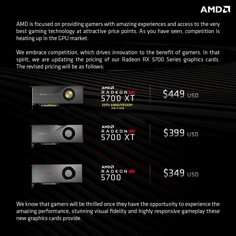 The AMD Radeon RX 5700 XT & RX 5700 Review: Navi Renews