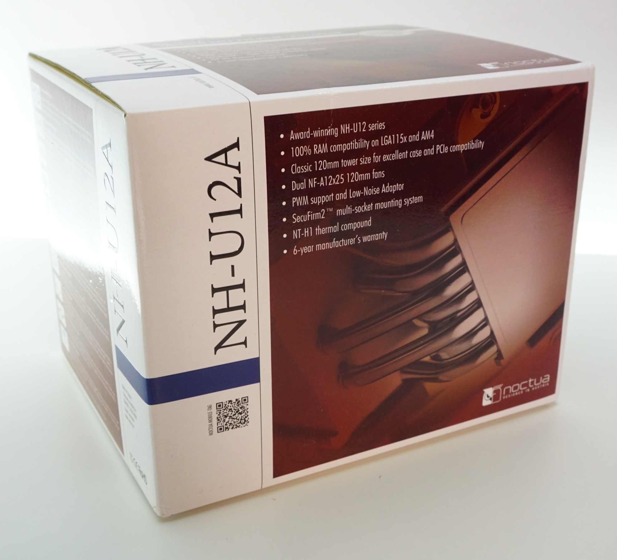The Noctua NH-U12A CPU Cooler Review: Big Performance in a