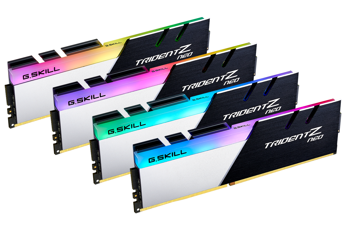 G Skill Launches Trident Neo Memory Modules for AMD Ryzen 3000 CPUs
