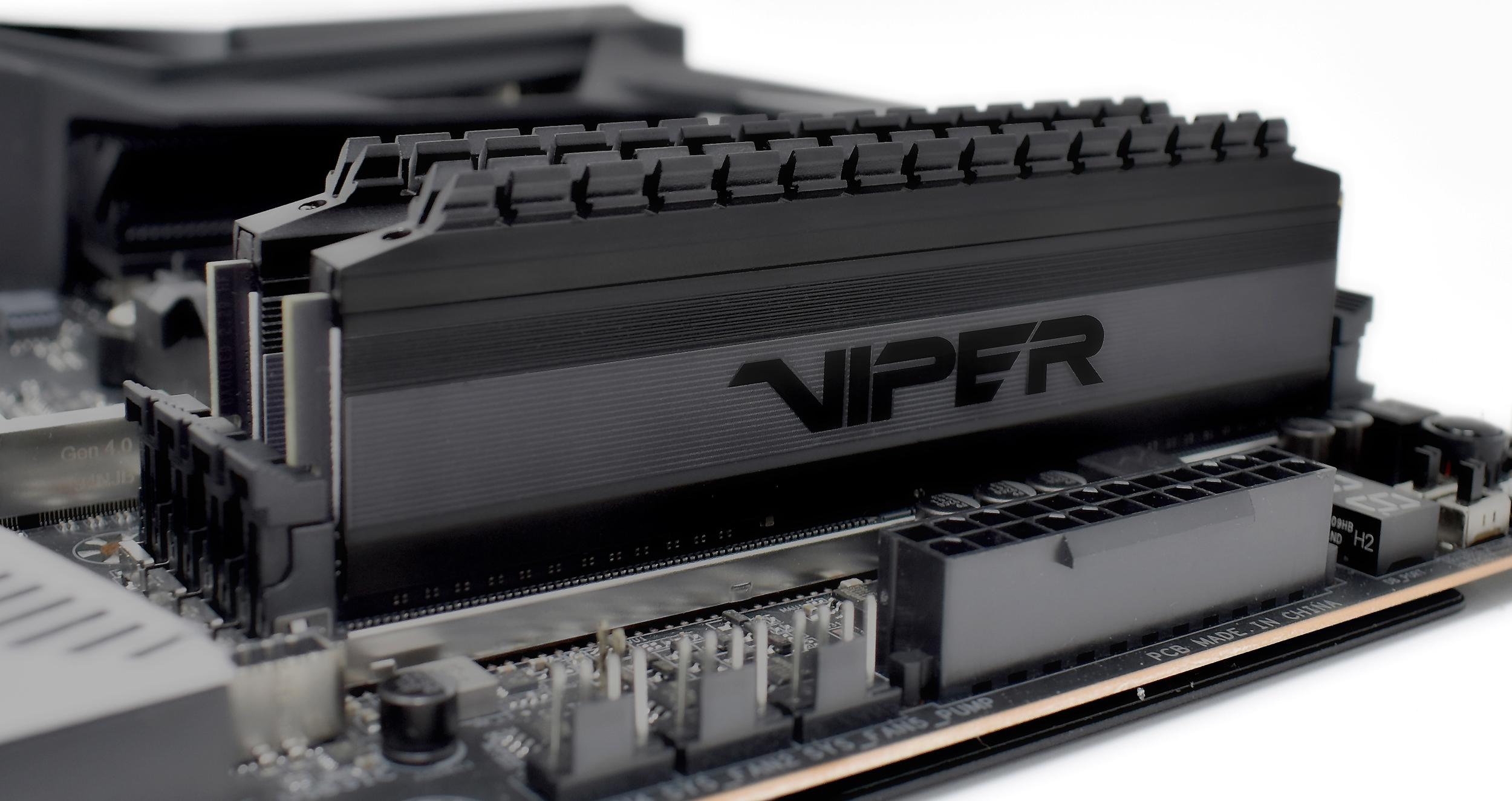 Patriot Unveils Viper 4 Blackout: Compatible with Ryzen 3000, Up ...
