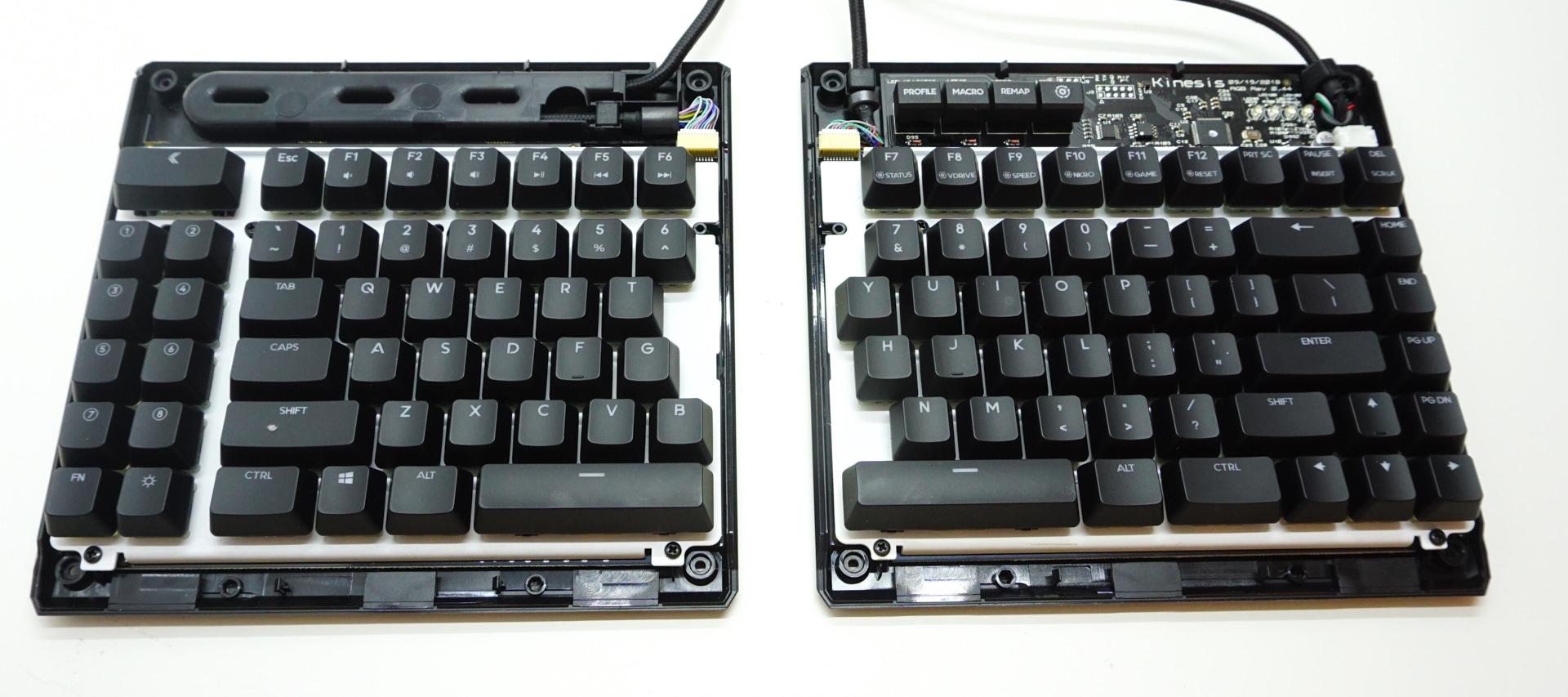 The Kinesis Freestyle Edge RGB Gaming Mechanical Keyboard