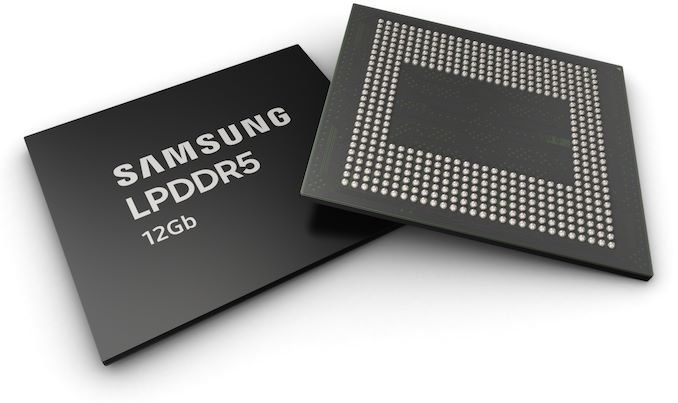 Samsung Starts Production of LPDDR5-5500 Devices: 12 GB of