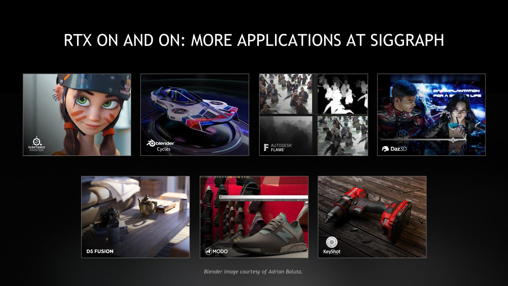 NVIDIA @ SIGGRAPH 2019: NV to Enable 30-bit OpenGL Support