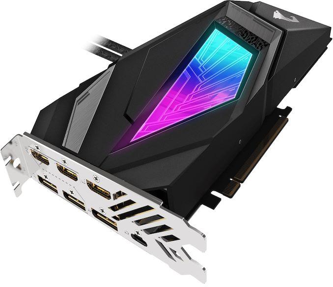 GIGABYTE Aorus Liquid-Cooled GeForce RTX 2080 Super Launched