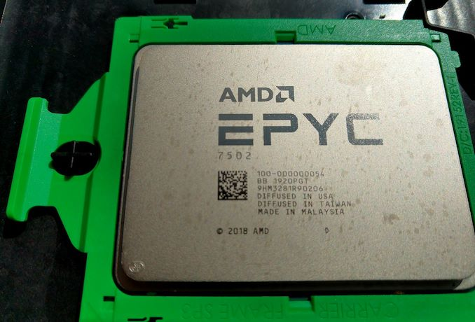 AMD Rome Second Generation EPYC Review: 2x 64-core