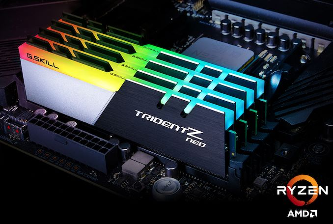 G Skill Reveals Trident Z Neo DDR4-3800 CL14 Kit for AMD