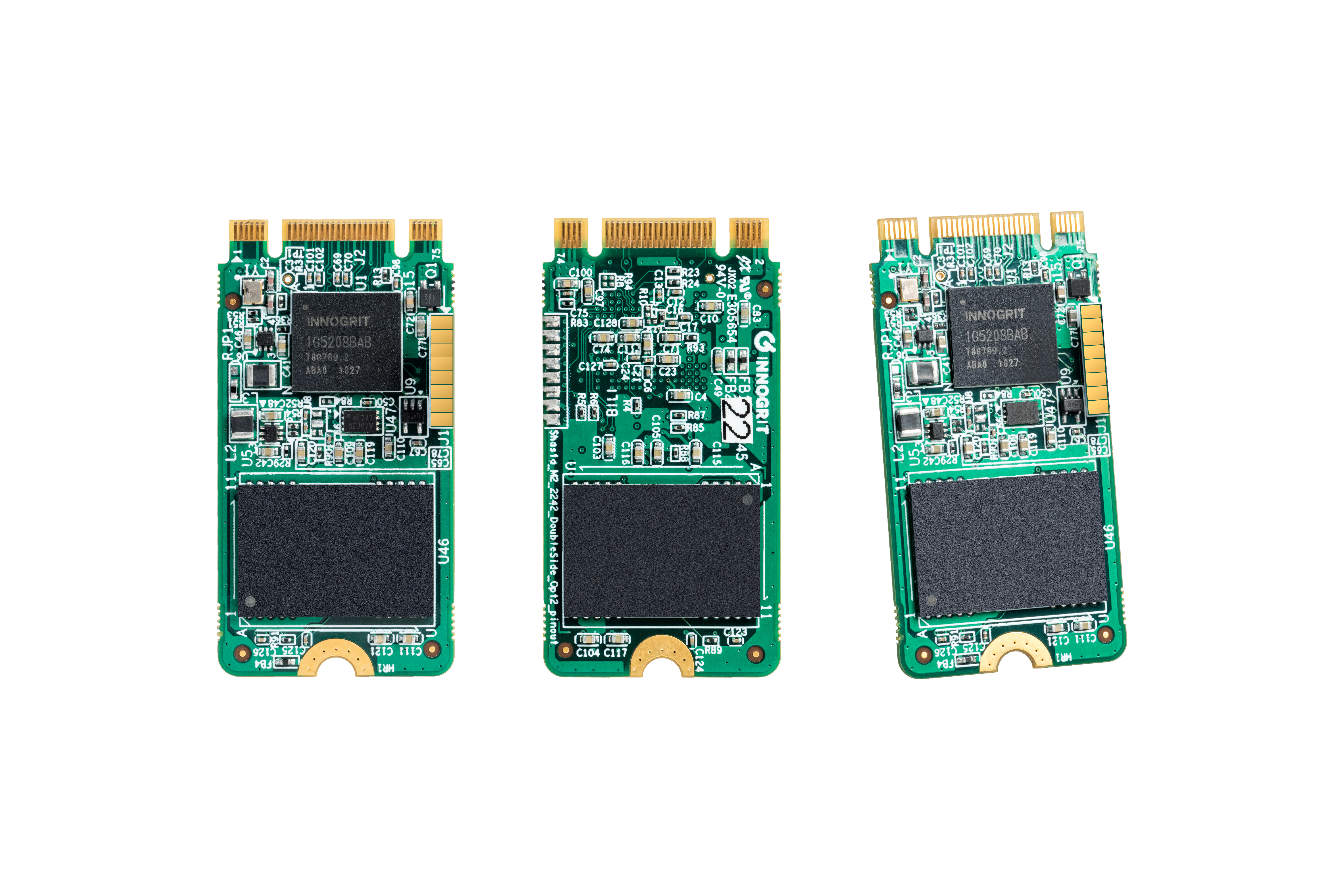 Innogrit Debuts With Four NVMe SSD Controllers