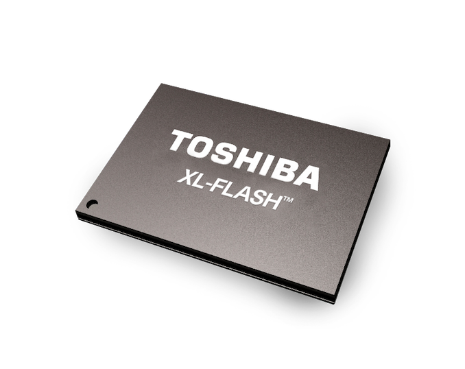 Toshiba Launches XL-FLASH 3D SLC NAND