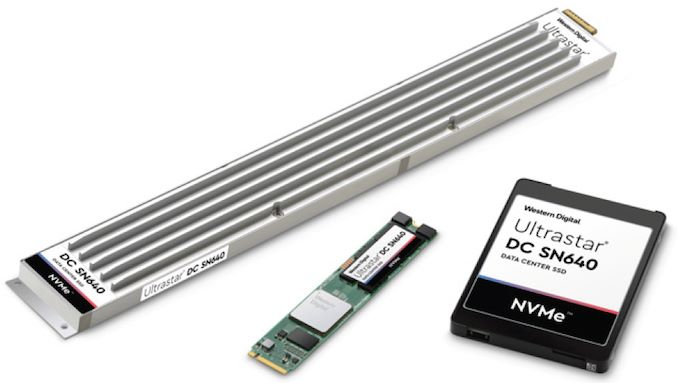 Western Digital Unveils Ultrastar DC SN640 SSDs: Up to 30 72 TB Capacity