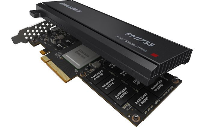 Samsung Preps PM1733 PCIe 4 0 Enterprise SSDs For AMD's