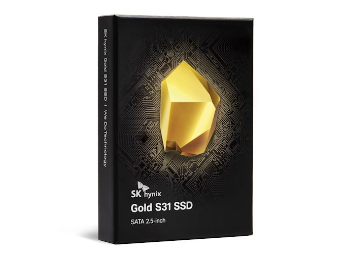 SK Hynix Re-Enters Retail SSD Market, Launches Gold S31 SATA Drives