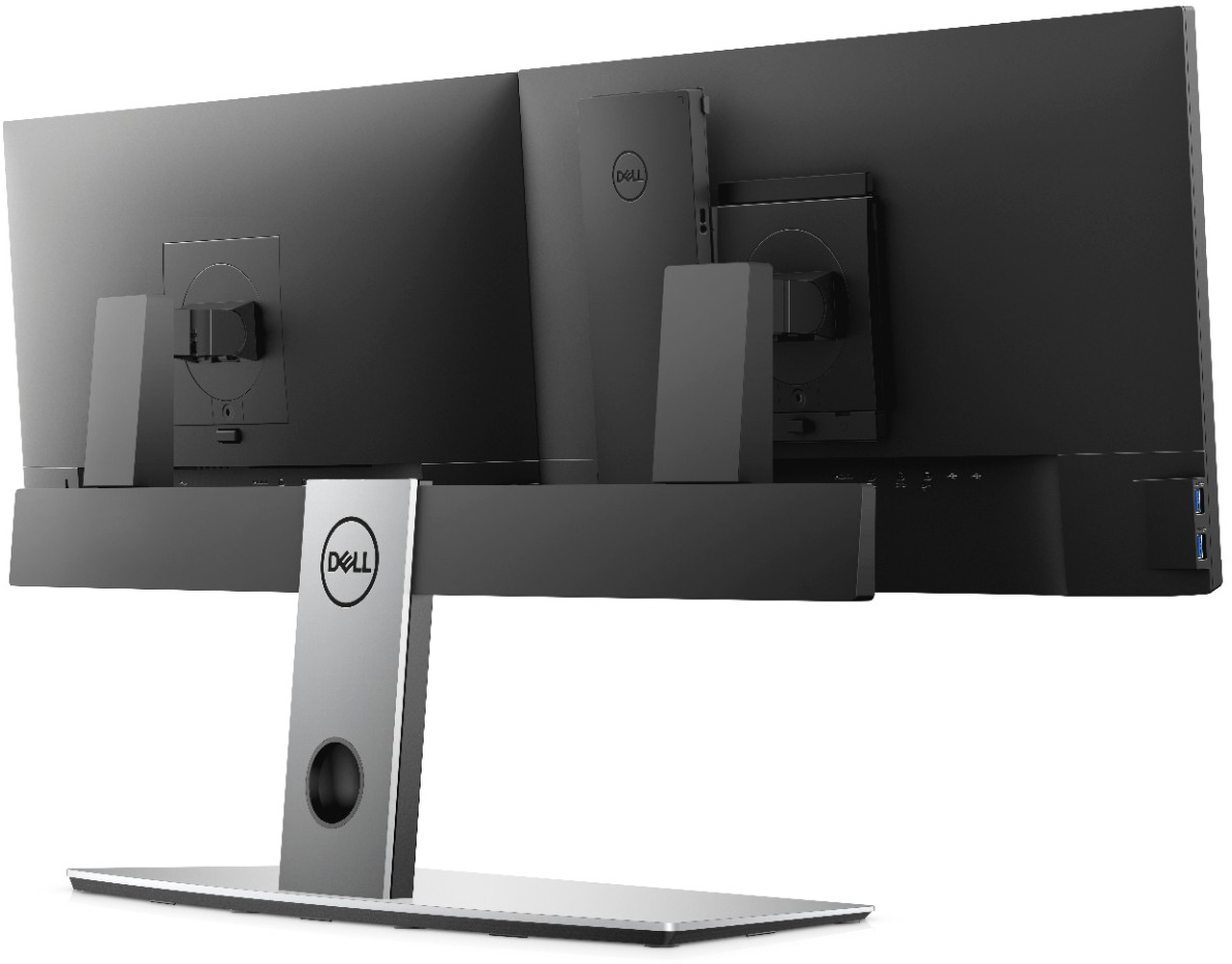 Dell's Tiny OptiPlex 7070 Ultra Fits Entirely Into a Monitor Stand