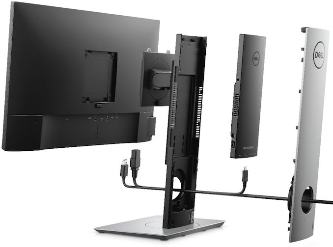 The Dell OptiPlex 7070 Ultra hides a PC inside its monitor stand