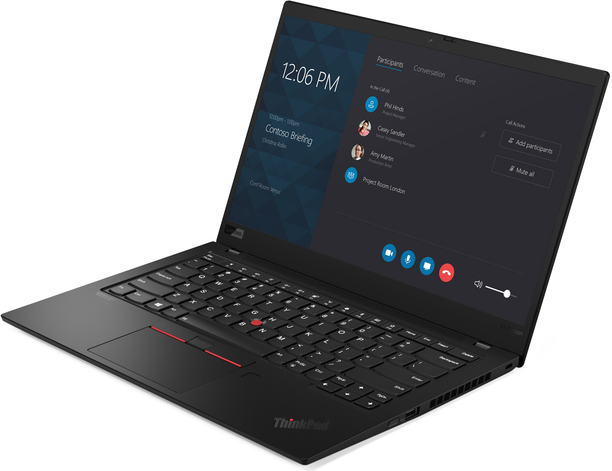 Lenovo Launches ThinkPad X1 Carbon Gen 7: Thinner, Lighter