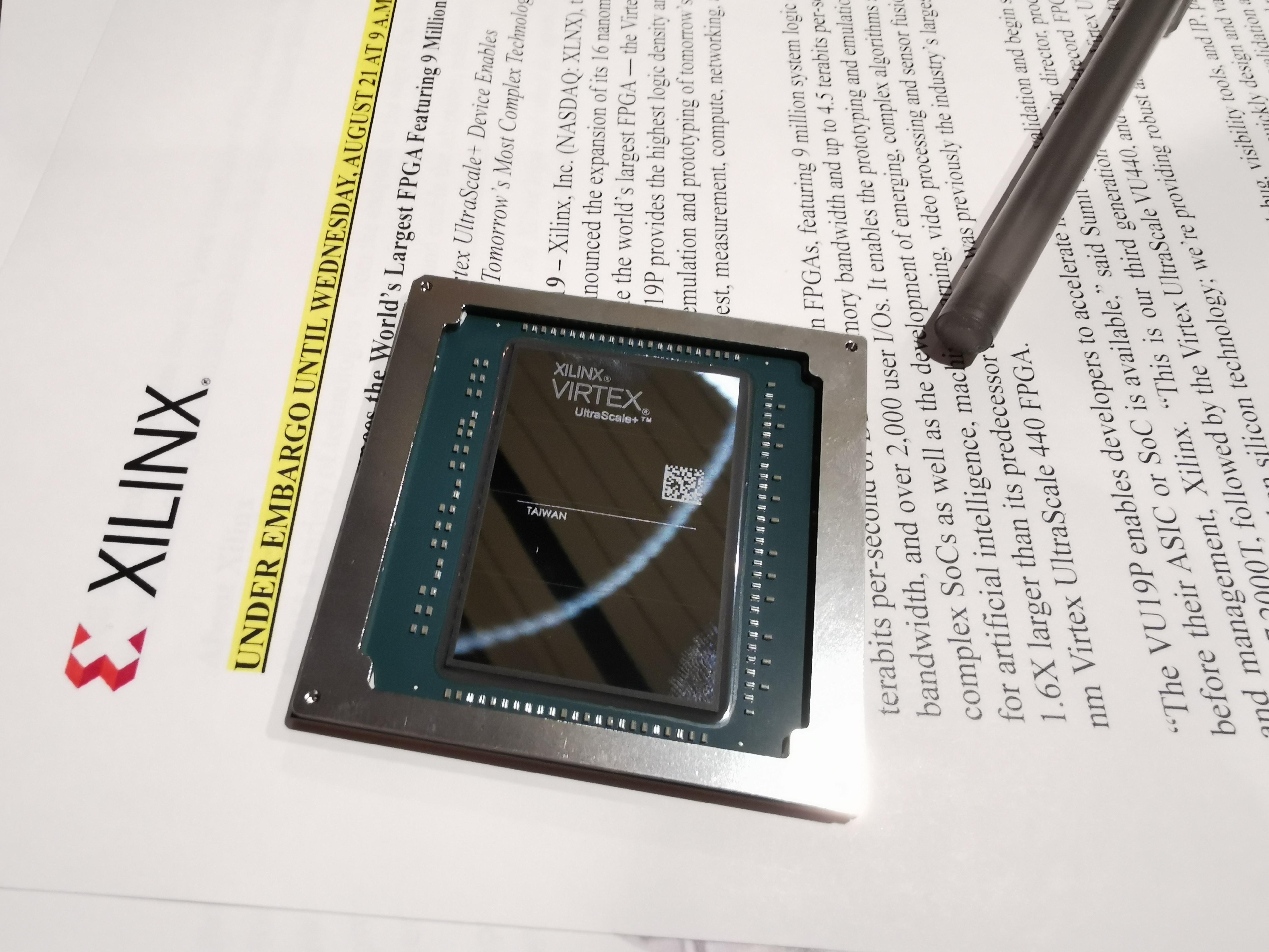 Xilinx Announces World Largest FPGA: Virtex Ultrascale+