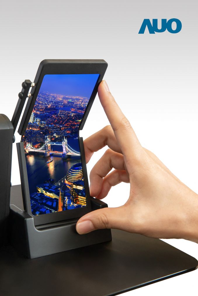 AU Optronics OLED Displays: A New Foldable + A New 17 3-Inch