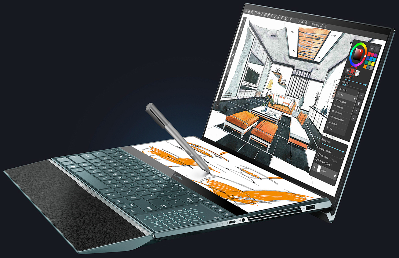 ASUS ZenBook Pro Duo UX58: A Dual Screen Laptop with 100
