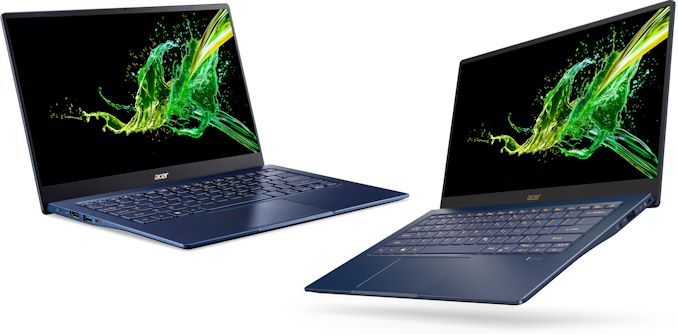Acer Launches 2019 Swift 5: 14-Inch, Ice Lake, GeForce MX