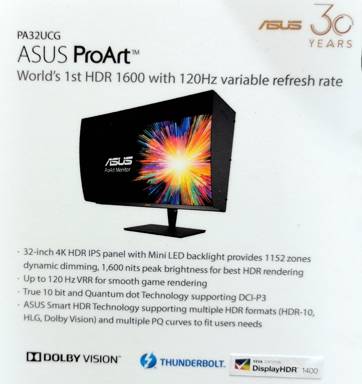 ASUS ProArt PA32UCG: The Ultimate Mini LED 4K 120 Hz Monitor