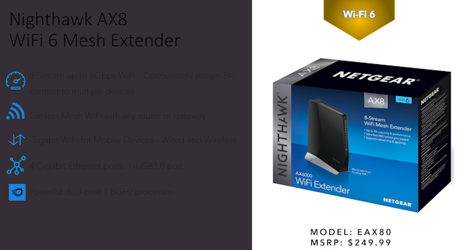 Netgear Expands 802 11ax Portfolio with Orbi Wi-Fi 6 Mesh