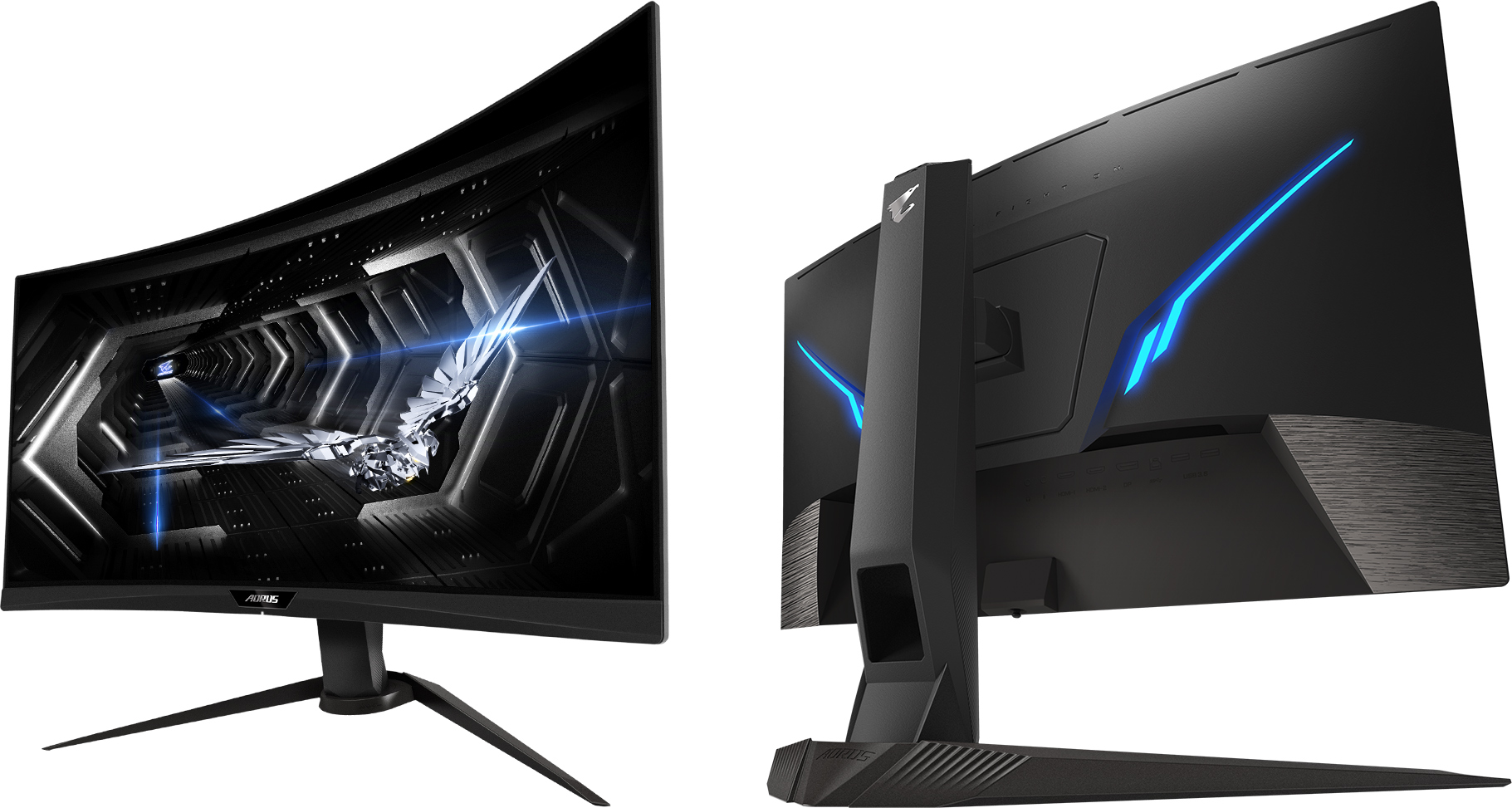 GIGABYTE's Aorus CV27Q Curved 'Tactical' Monitor: 165 Hz QHD With ...