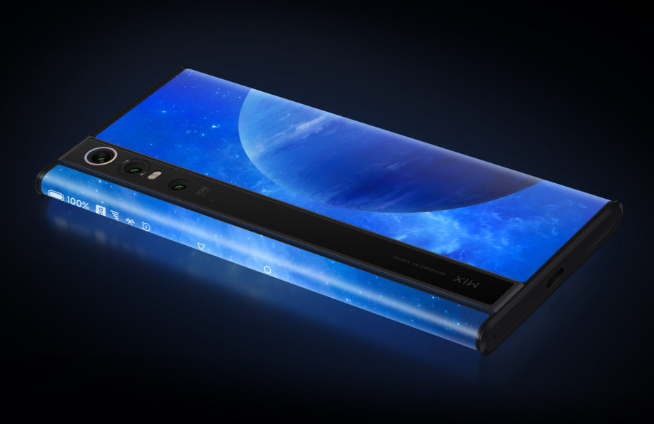 Xiaomi Mi Mix Alpha: A Truly All-Around 'Surround' Display Smartphone